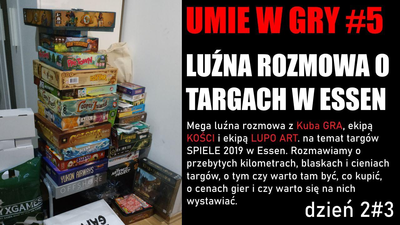 #5 UMIE W GRY ESSEN cz 2#3